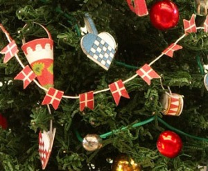 be filled with julehygge and we will provide all the colorful paper star strips and other supplies needed to create danish christmas ornaments